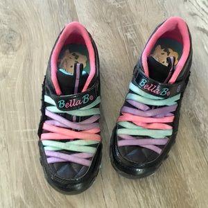 Girls Bella Ballerina Shoes Size 2